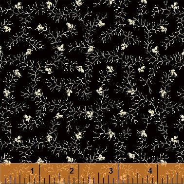50179-1 - Wisdom - Dotted Vine Black