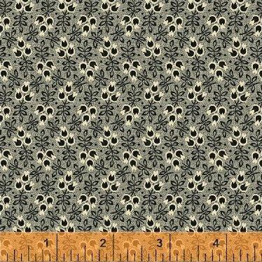 50181-1 - Wisdom - Floral  Black