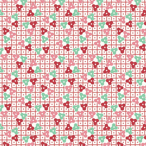 Lottie Ruth - Pink Lattice - A-8779-E