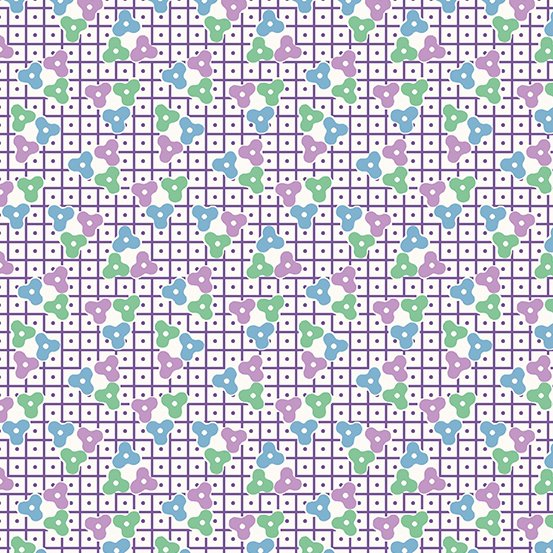 Lottie Ruth - Purple Lattice