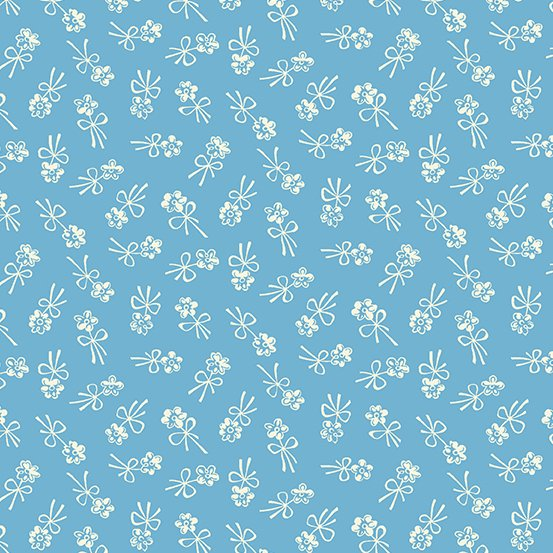 Darling Clementine-A-9479-B-Blossom Bows Blue