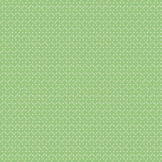 Darling Clementine-A-9484-G-  Tiny Texture Green