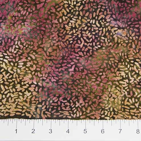 81000 1004 - KETAN BATIK MIXER - brown-pink