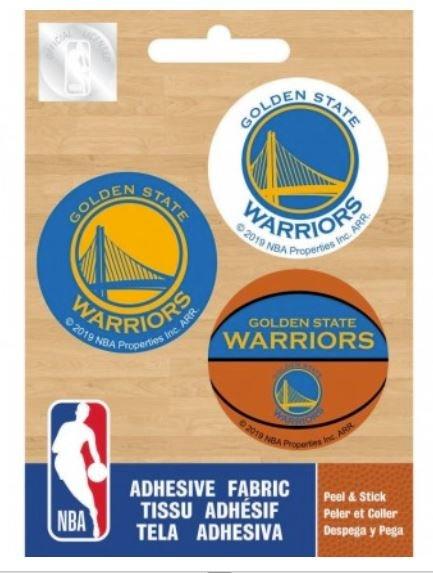 Ad-Fab NBA Warriors Iron-on Minis 1-1/2 - 3 ct