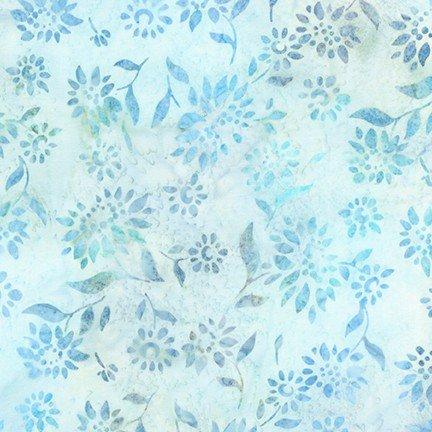 AMD-18794-63 - Artisan Batiks - Summer Flowers - Sky