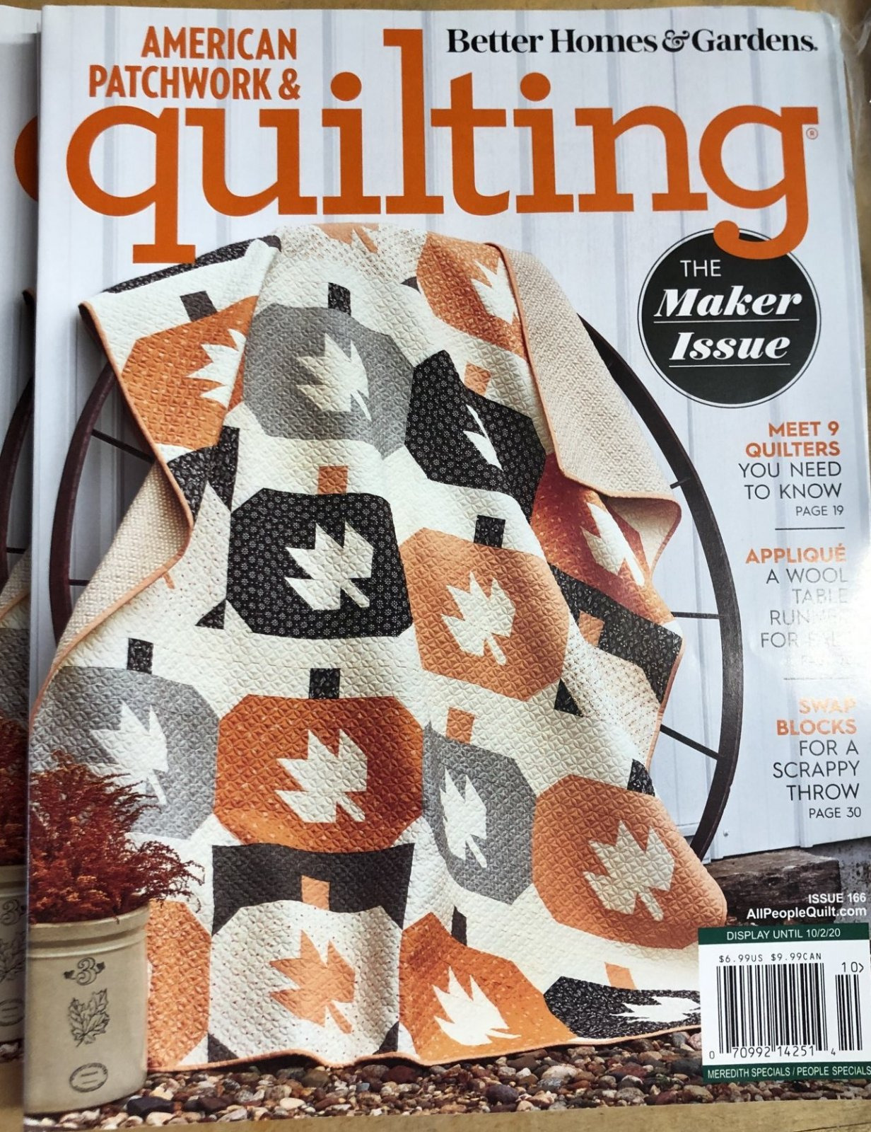American Patchwork and Quilting Magazine - October 2020 Issue 166