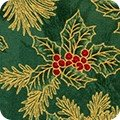 Holiday Flourish - Green - APTM-18345-7