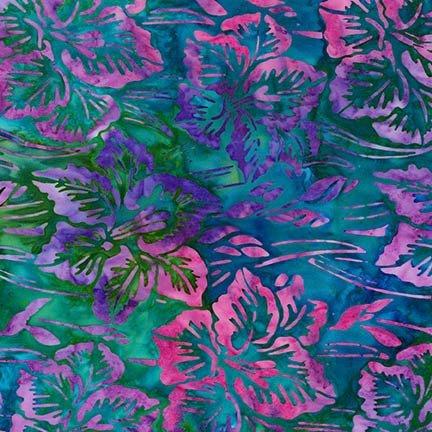 Artisan Batiks: Bright Blooms - Jewel