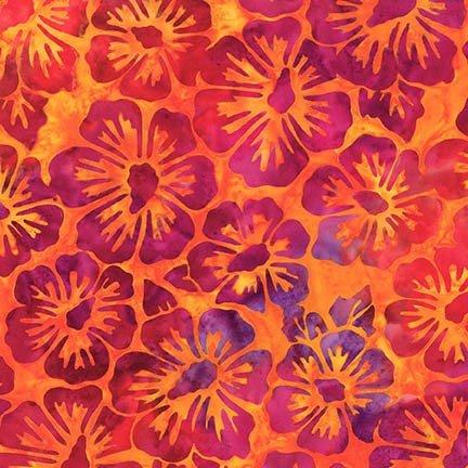 Artisan Batiks: Bright Blooms - Fiesta