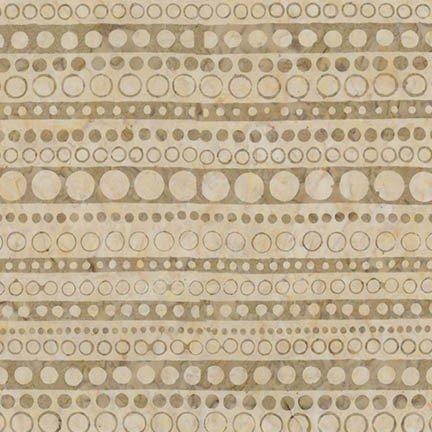 9-1/3 yds (King Backing) AMD-17774-14 - Artisan Batiks: Roundabout  - Natural
