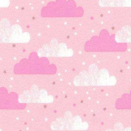 Cuddly Kittens Flannel 2  Pink AWYF-18121-10