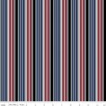 C7555 - Hey Mister Striped Leash Burgundy