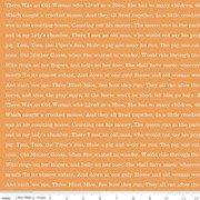 Goose Tales Text Blind Mice Orange C9399-Orange