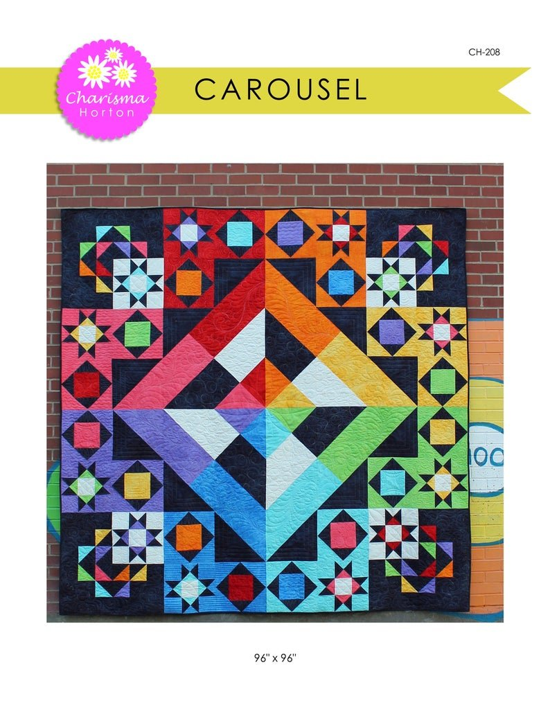 Carousel Quilt Pattern - 96 x 96