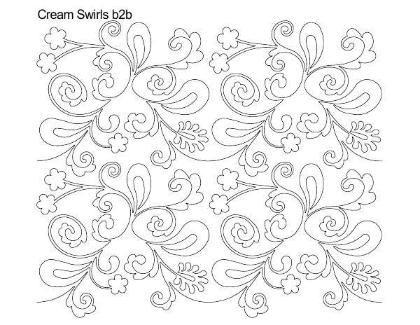 Cream Swirls B2B