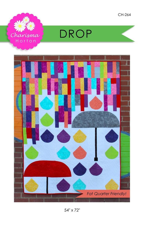 Drop Quilt Pattern - 54 x 72