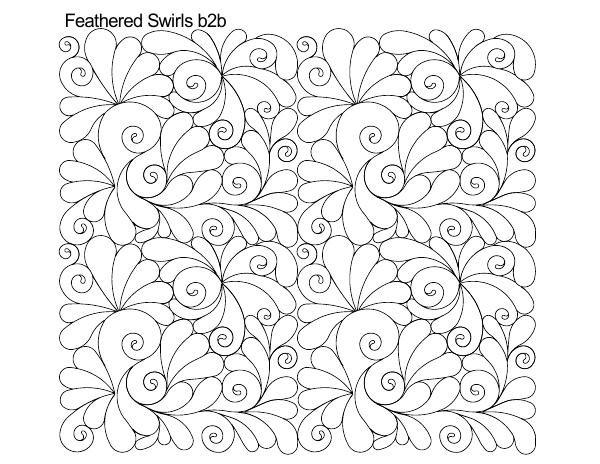 Feathered Swirls B2B