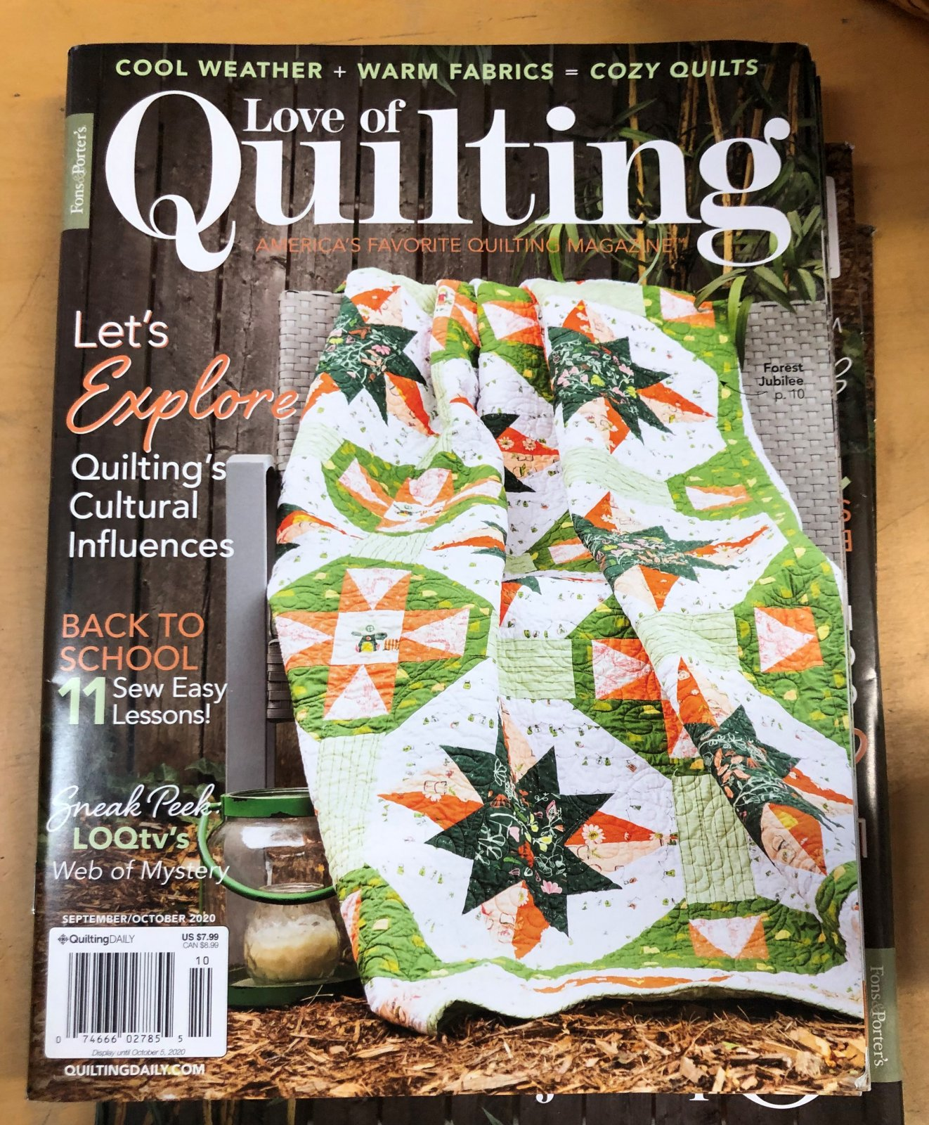 Love of Quilting Magazine by Quilting Daily - September/October 2020 Issue