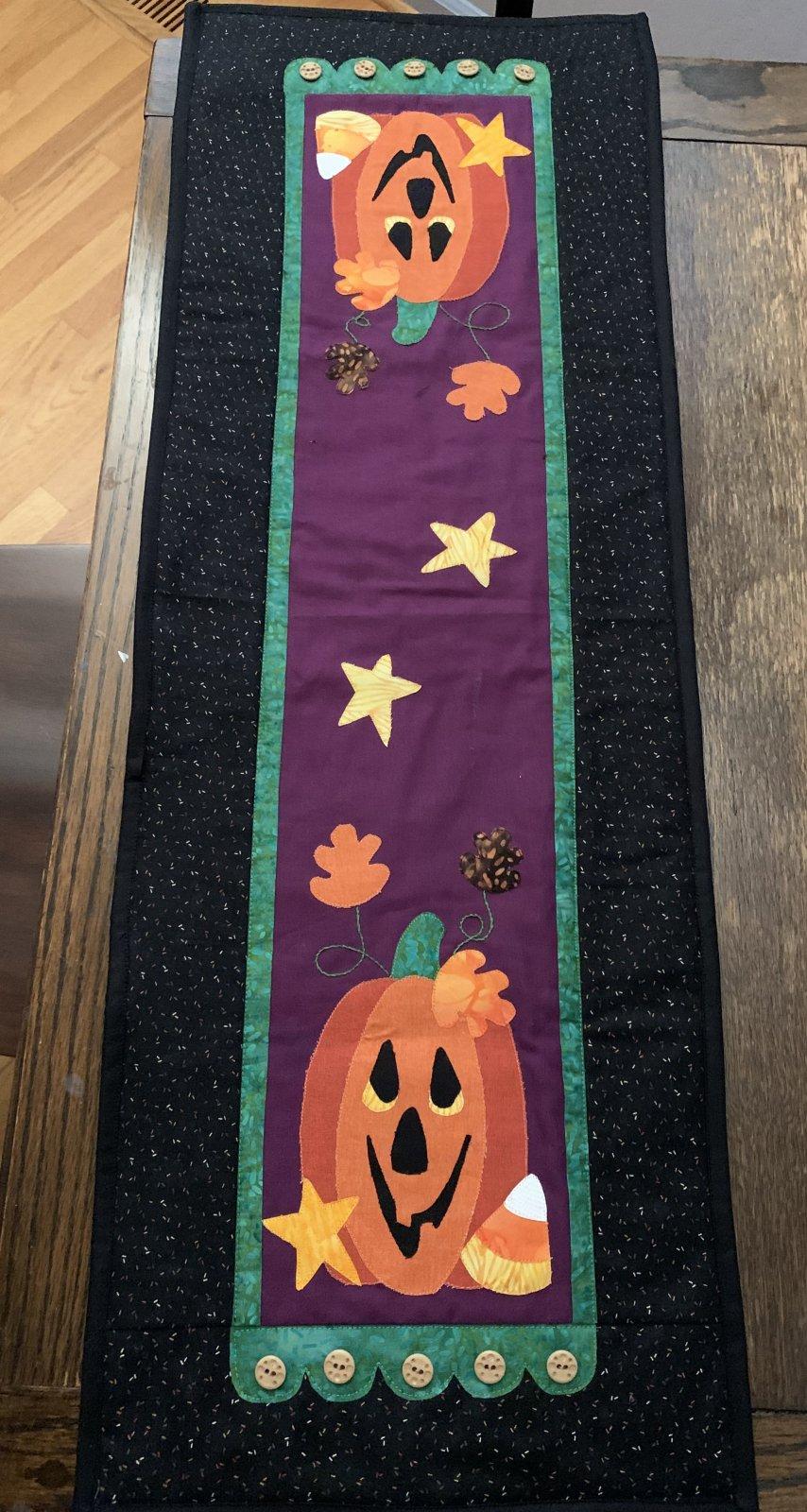 Little Quilts Runner - Pumpkin