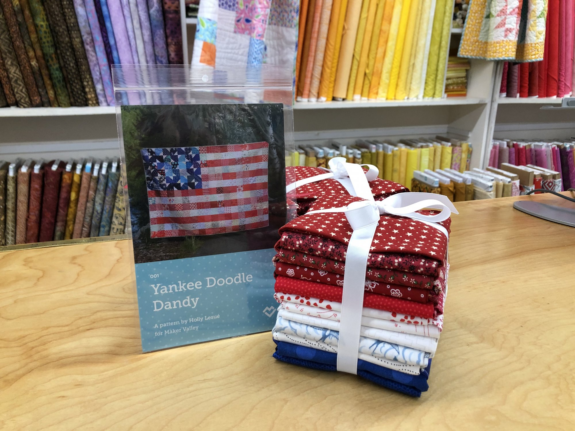 Yankee Doodle Tower-22 FQs - $84.95