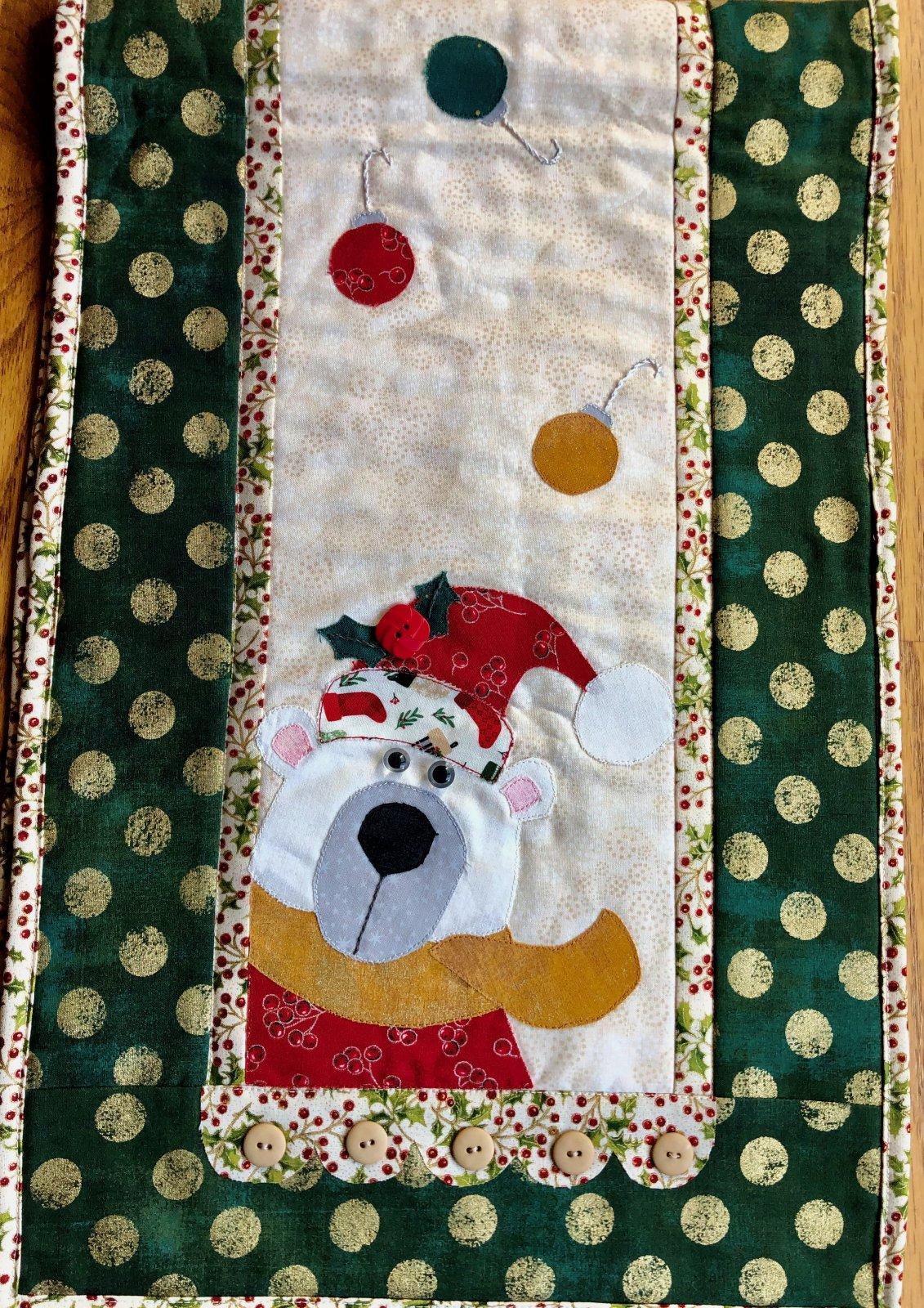 Little Quilts BOM - Polar Bear