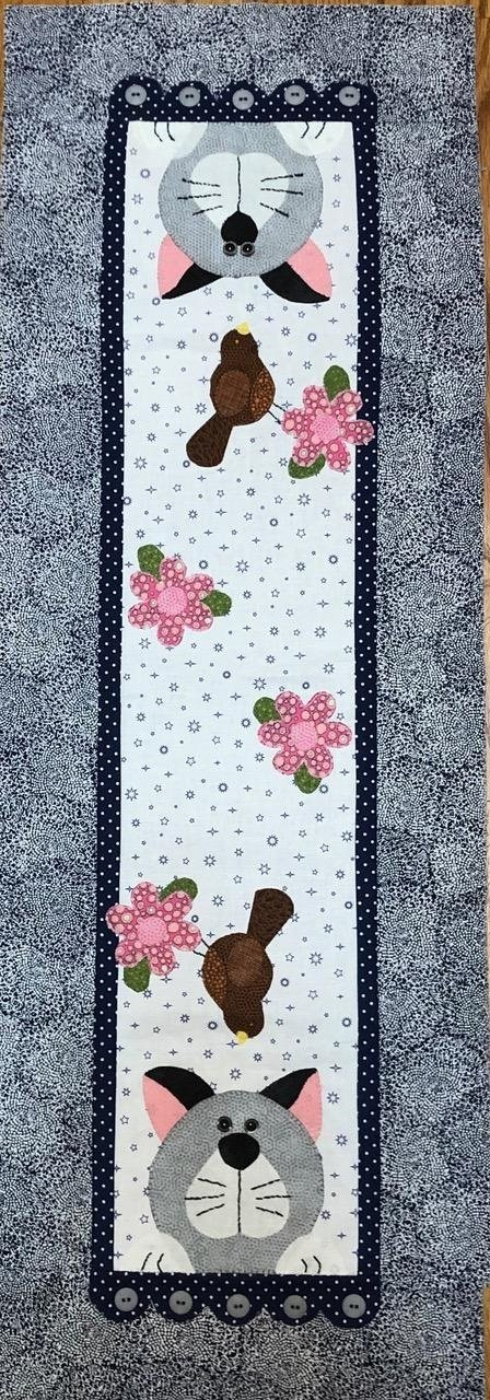 Little Quilts Runner -  Cat