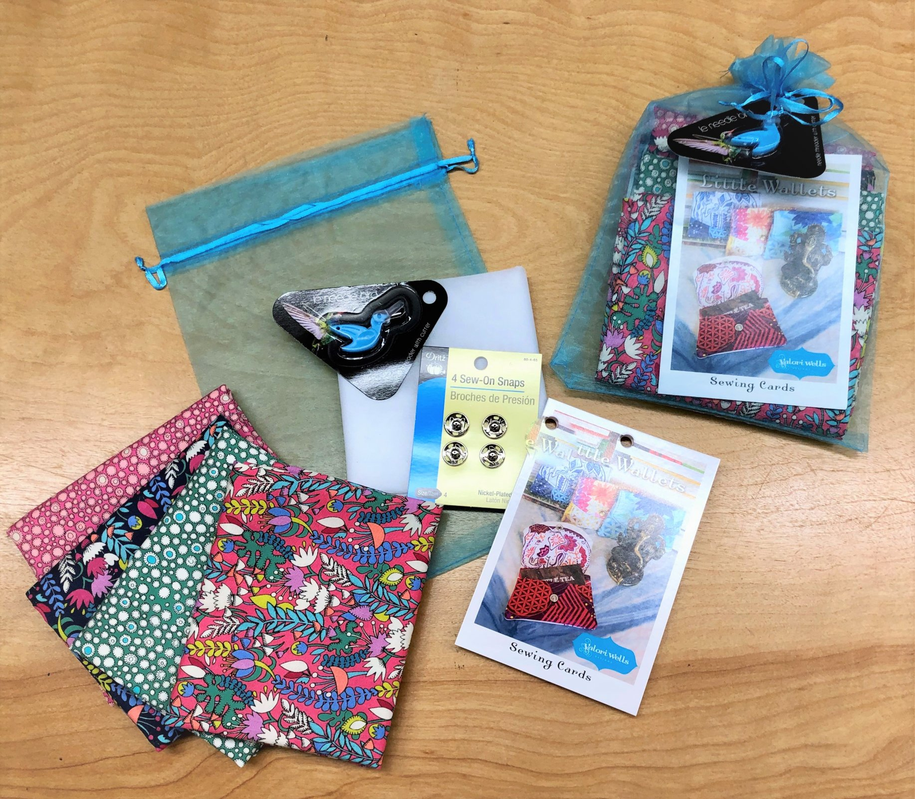 Little Wallets Gift Kit - Makes 2