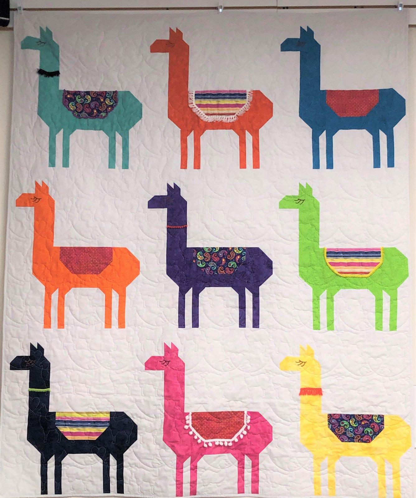 Llamarama Quilt Kit (60 x 72)