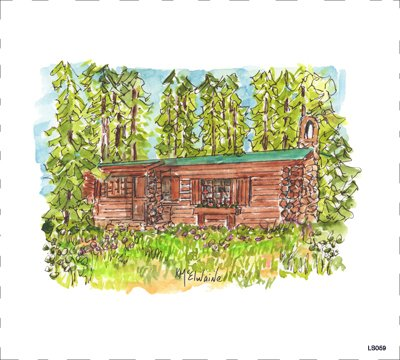 Cabin Quilt Block