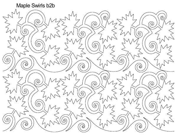 Maple Swirls B2B