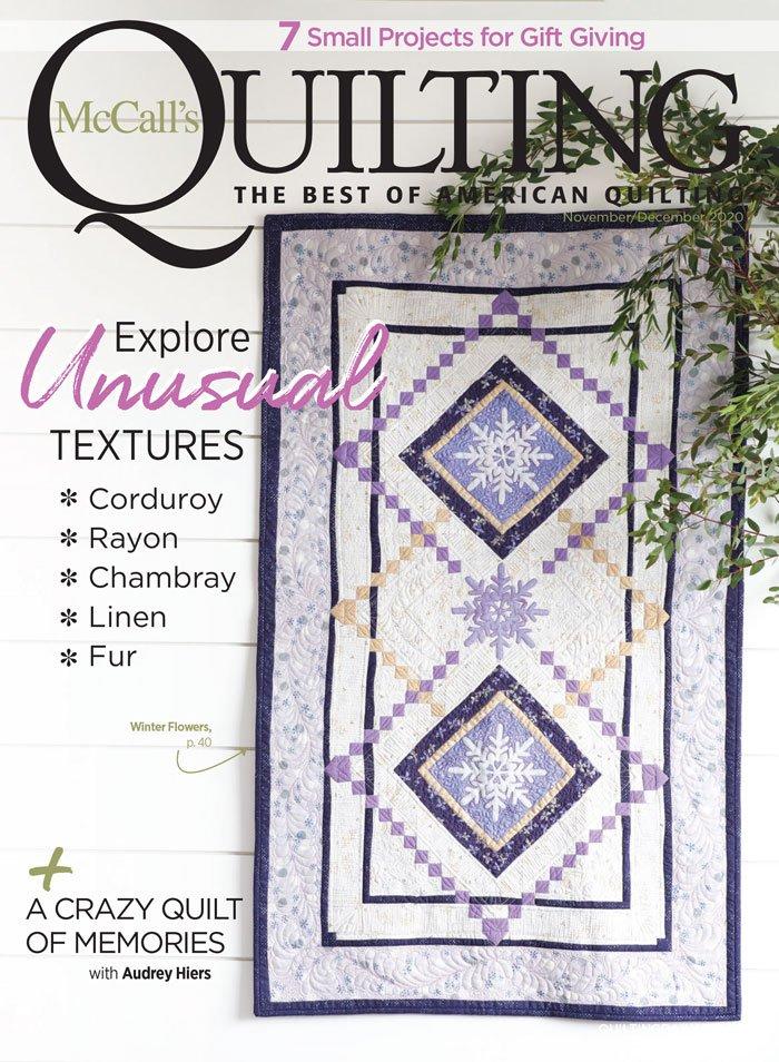 McCall's Quilting Magazine - November/December 2020
