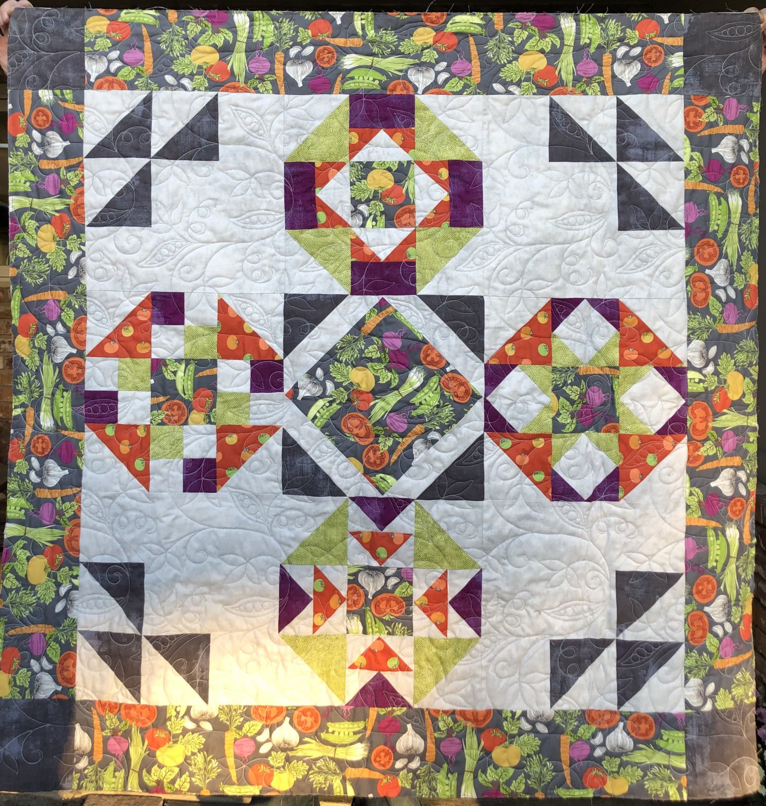 Mystery Harvest Sampler Quilt Kit B - 43 x 43