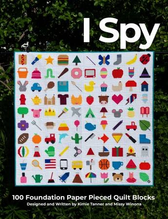 I Spy BOM Book by On Williams Street