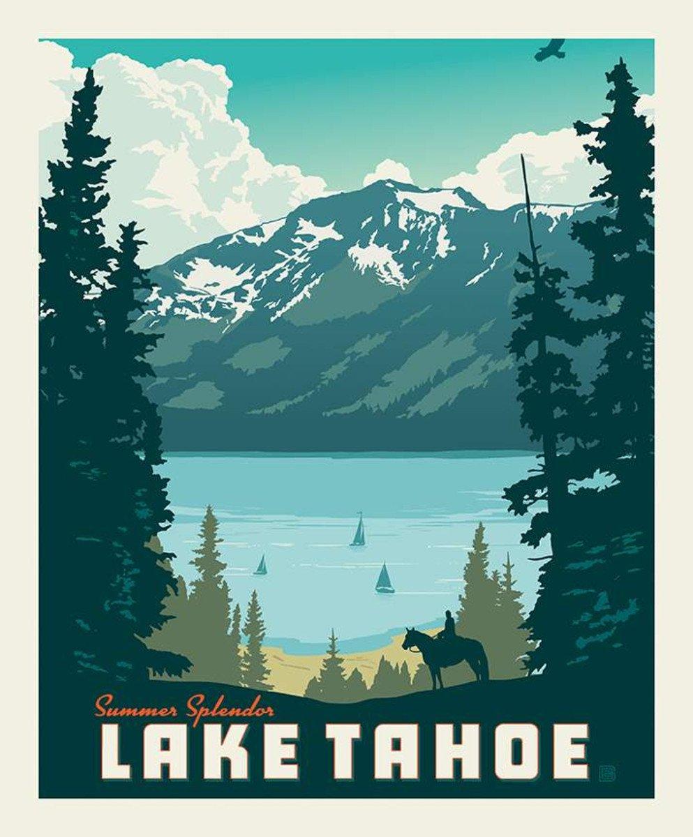 Riley Blake - Lake Tahoe Panel 36 x 43-1/2
