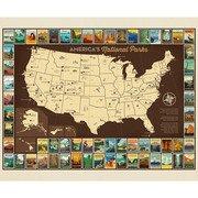 National Parks Poster Panel