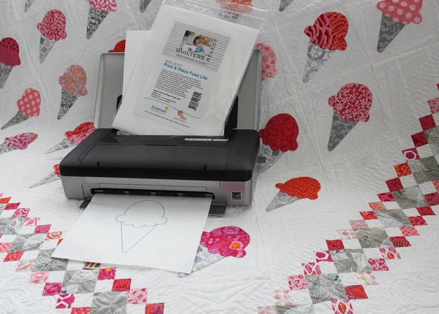 Quilter's Select Print & Piece Fuse Lite