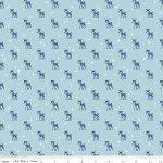Cozy Reindeer Blue