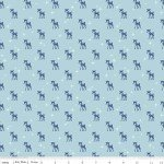 Cozy Reindeer Blue - C5364-BLUE