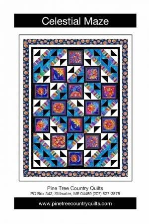 Celestial Maze Pattern - 50 x 65