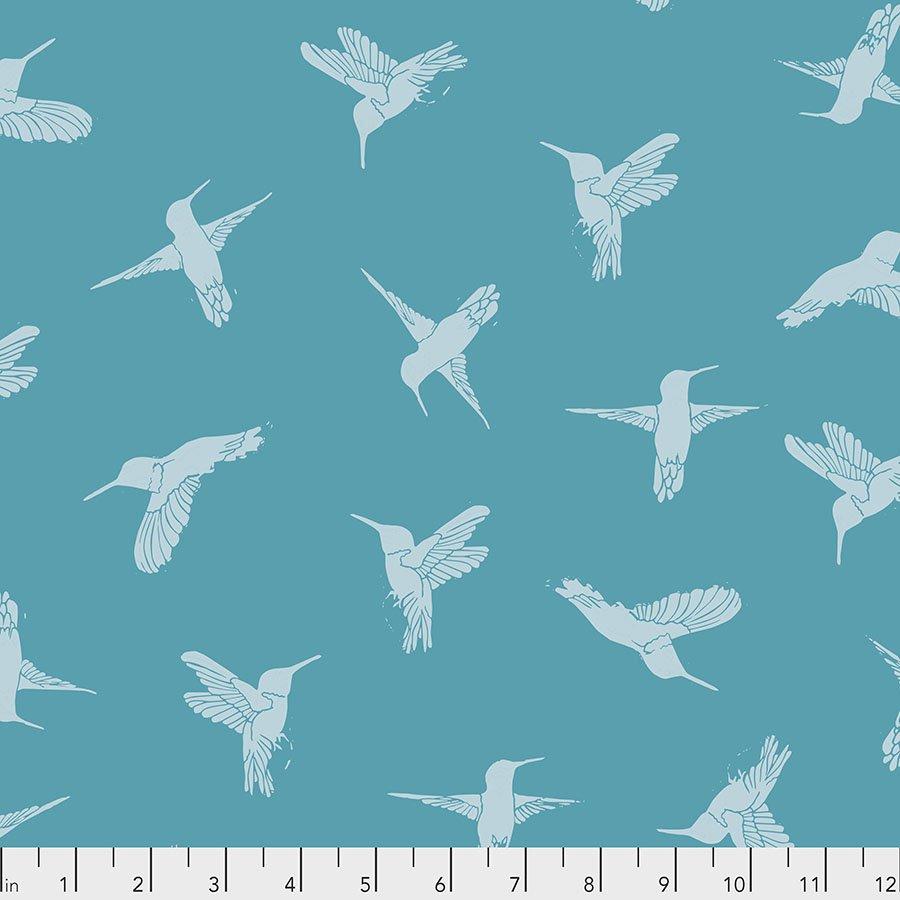 Humming Birds - Turquoise - PWVW003.TURQUOISE