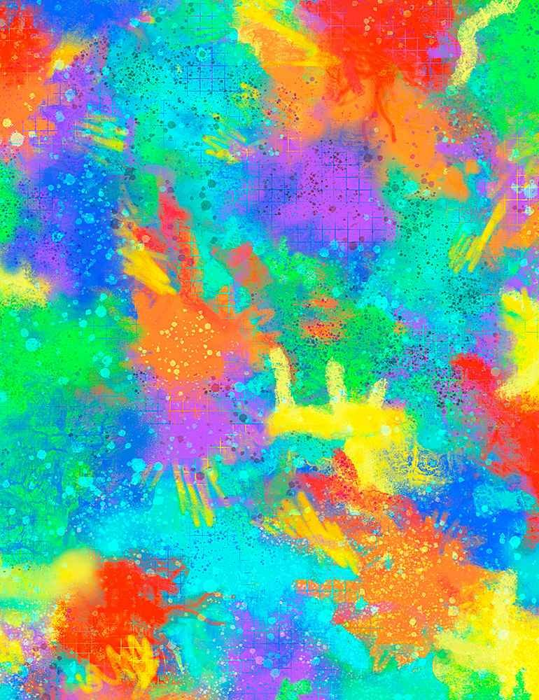 QT Rainbow Texture - QTI-CD8831-RAINBOW