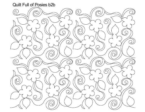 Quilt Full of Posies B2B