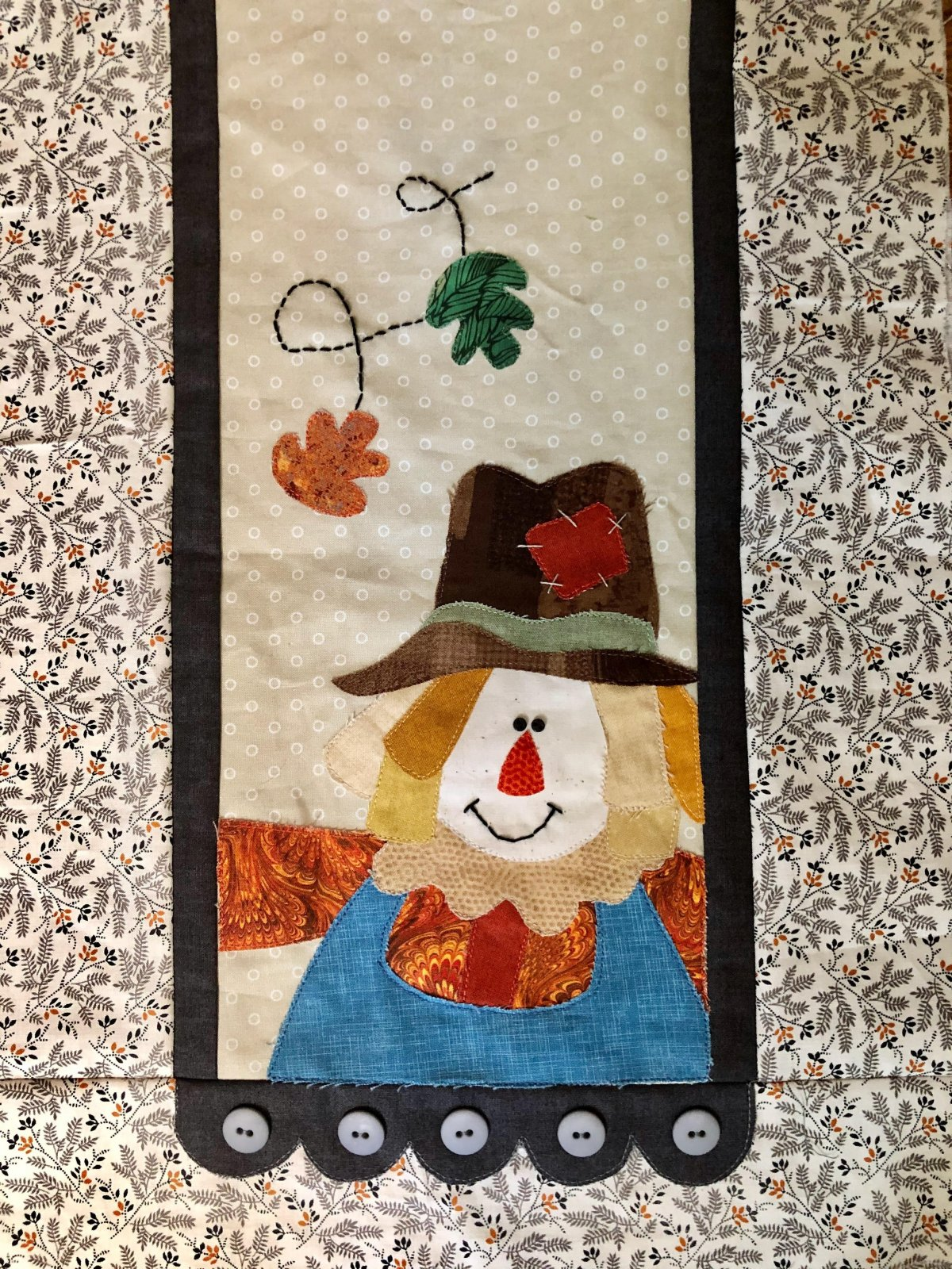 Little Quilts Runner - Scarecrow