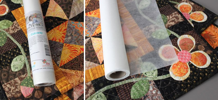 Quilter's Select Cutaway - 15 x 10 yd