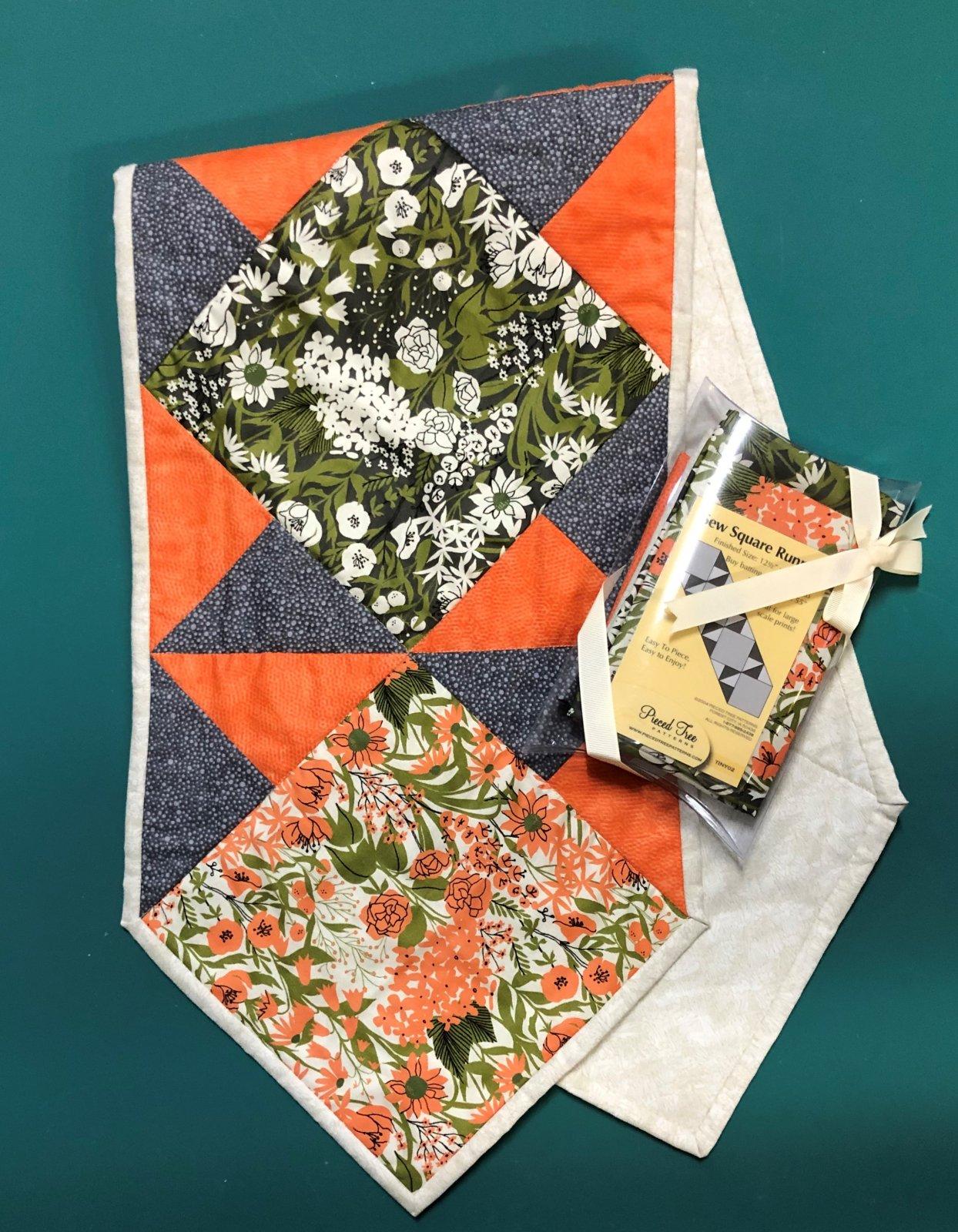 Sew Square Runner Kit - Mazy (15 x 55)