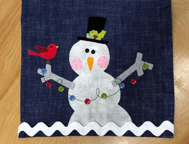 Better Not Pout - Snowman Tea Towel Kit (16 x 27)