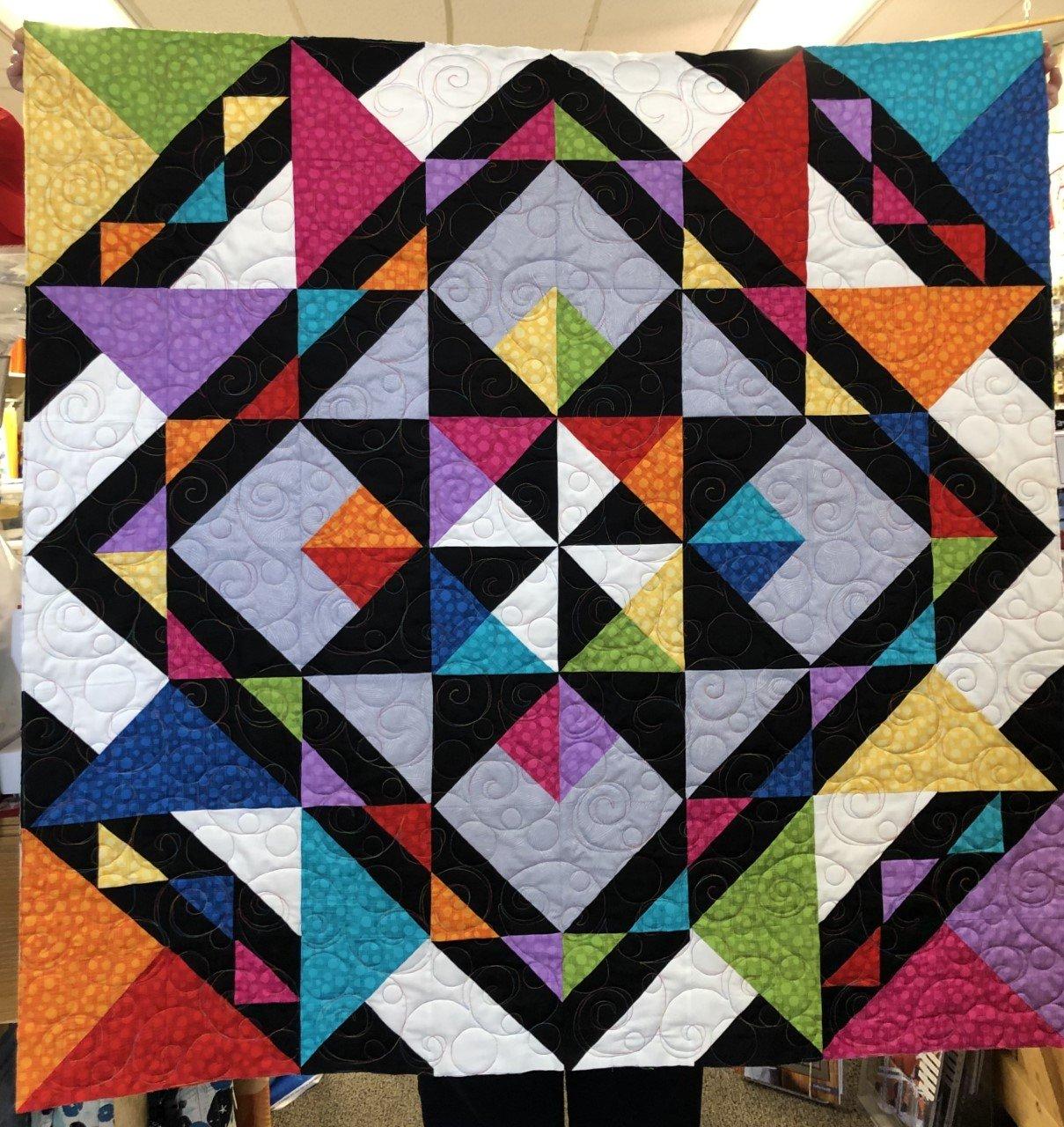 Starla Quilt Kit - 48 x 48