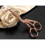 Rose Gold Embroidery Scissors - Stork