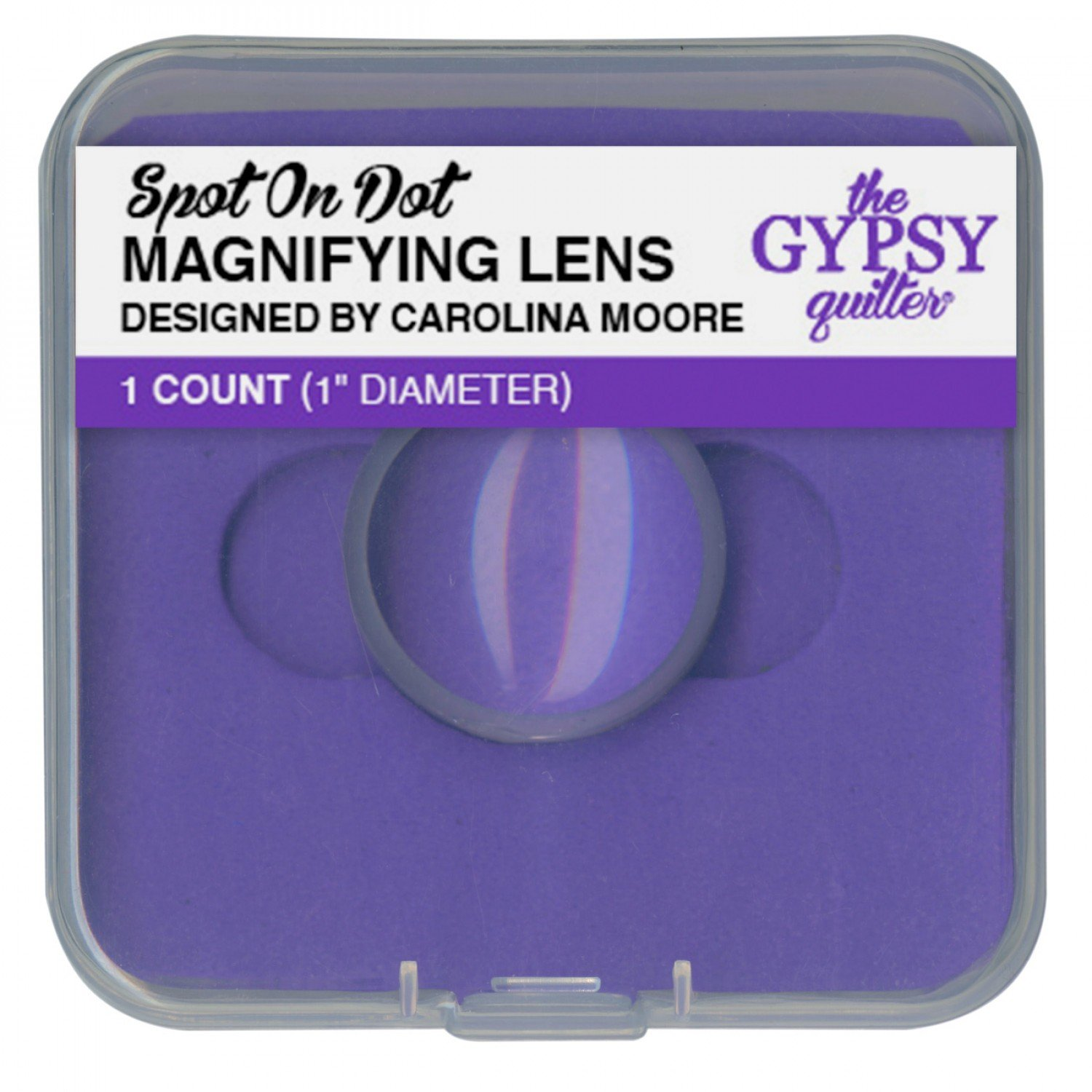 Gypsy Quilter Spot On Dot Magnifying Lens - 1in