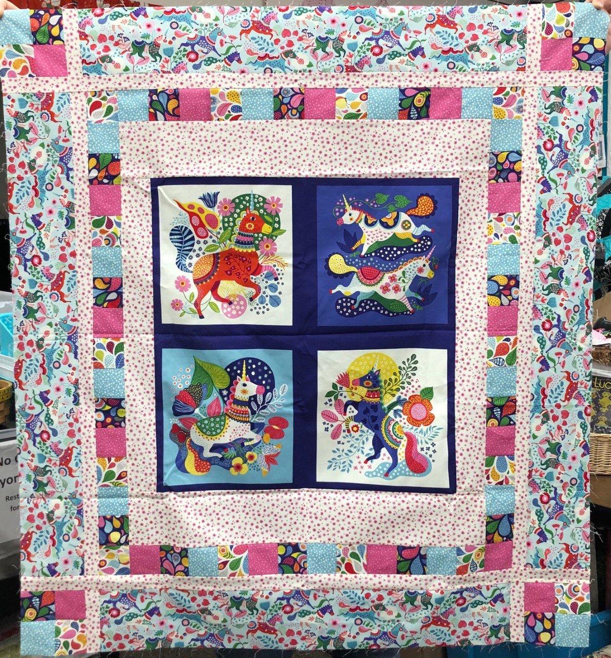 Forever Magic Unicorn Panel Kit - Light Aqua - 38 x 42